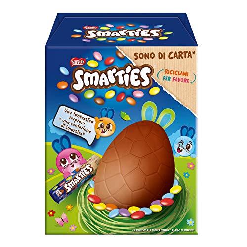 Smarties Uovo di Pasqua con Sorpresa e Tubo Smarties 4 Confezioni da 1 Uovo Ciascuna