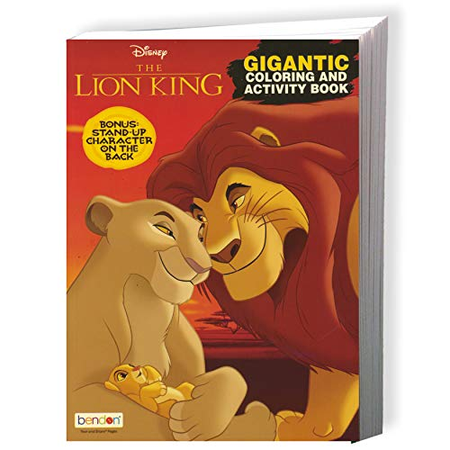 - Disney Lion King Coloring Book And Stickers Gift Set - Bundle Includes  Gigantic 192 Pg Coloring Book With Stickers In Specialty Gift Bag (Lion King)-  Buy Online In El Salvador At Desertcart