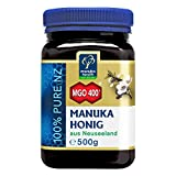 Manuka Health - Manuka Honig MGO 400 + 500g - 100% Pur aus Neuseeland mit zertifiziertem...