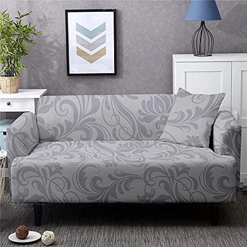 Funda de sofá de Leopardo Funda de sofá Americana Moderna Funda de Spandex Antideslizante Fundas elásticas Funda de Muebles 235-300cm 14