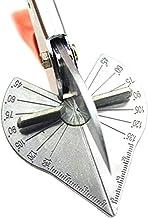 Kooshy Cortador de inglete Manual Cizalla en ángulo Recto Cortador cizalla para inglete en ángulo múltiple Herramientas manuales Llave Ajustable de 45 a 135 Grados para Tiras de Madera