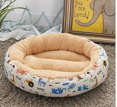 Hondenhok Pet Housepet Hondenbed Waterdicht groot en middelgroot katten- en kattenkussen Hondenmand Kennel Winter Warm Golden Retriever-kussen