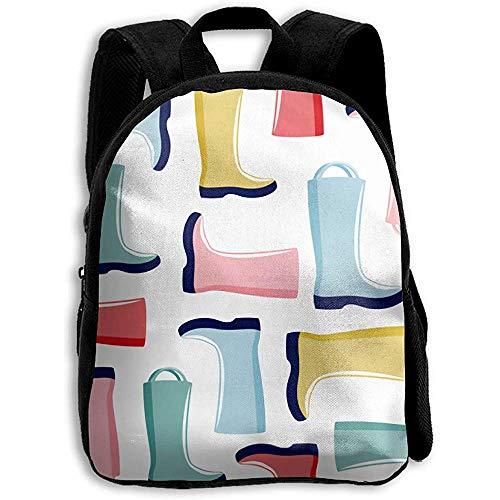 Kinderrucksäcke,Aquarell Stiefel Rucksack, Adult Bag Reisetaschen Für Erwachsene Teens Kids