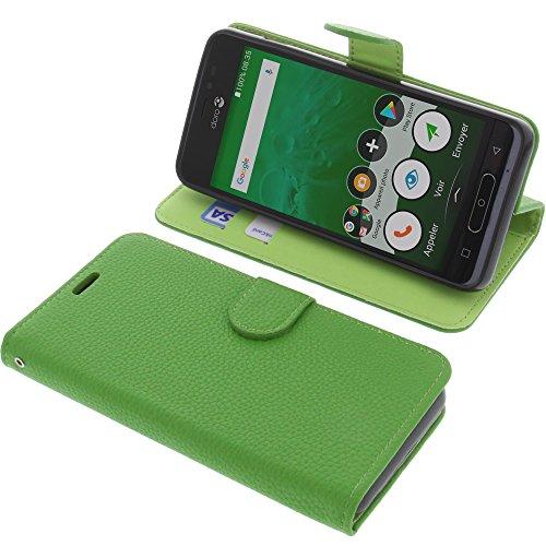 Tasche für Doro 8035 Book Style grün Schutz Hülle Buch