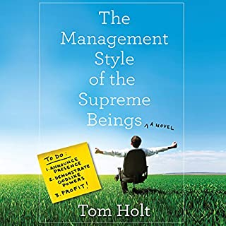 The Management Style of the Supreme Beings audiobook cover art