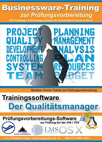 Qualitätsmanager Lerntrainer / Fragenkatalog mit über 500 Multiple-Choice Prüfungsfragen: Lernsoftware für die Prüfungsvorbereitung IHK / TÜV