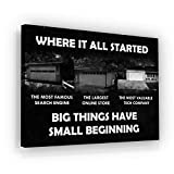 SuccessHuntersPrints Entrepreneur Garage Motivational Wall