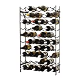 Oenophilia Alexander Rack-60, Sturdy Metal Construction, Wobble-Free, Extra Large Standing and Wall Mount Wine...