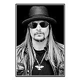 DuanWu Kid Rock Music Star Schwarz Weiß Poster und Drucke