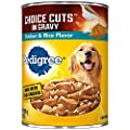 PEDIGREE CHOICE CUTS in Gravy Adult Canned Soft Wet Meaty Dog Food Chicken & Rice Flavor, (12) 22 oz. Cans