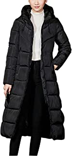Zhhlaixing Elegant Ladies Hooded Quilted Puffer Jacket Winter Coats - Outdoor Thick Warm Slim Down Cotton Jacket for Womens Big Girls