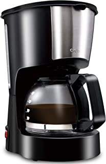 dretec(ドリテック) コーヒーメーカー 自動 保温機能付き ガラスポット付き リラカフェ ブラック CM-100BK