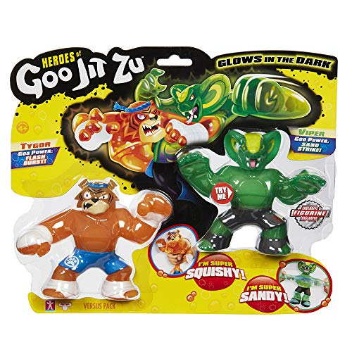 Goo Jit Zu - Figura Héroe Goo Jit Zu (Tygor Vs Viper)