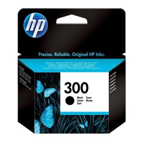 Original Tinte HP 300 , NO300 , Nr 300 CC640EE , CC640EEABB , CC640EEABD , CC640EEABE , CC640EEABF - Premium Drucker-Patrone - Schwarz - 200 Seiten - 4 ml