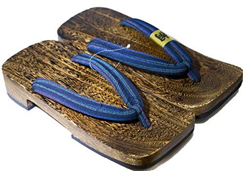 CP Geta: Paulownia Holzmann Chaussures Sandale Traditionnelles Taille L 30cm
