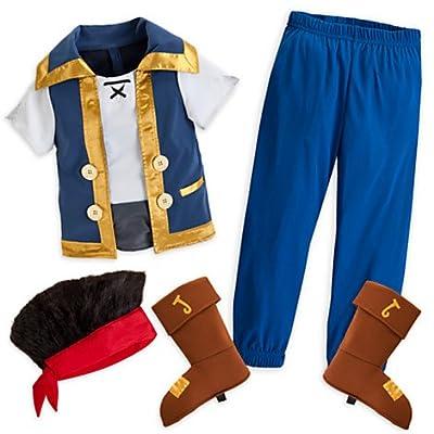 Jake and the Neverland Pirates Costume Disney Store Size 7/8 Medium