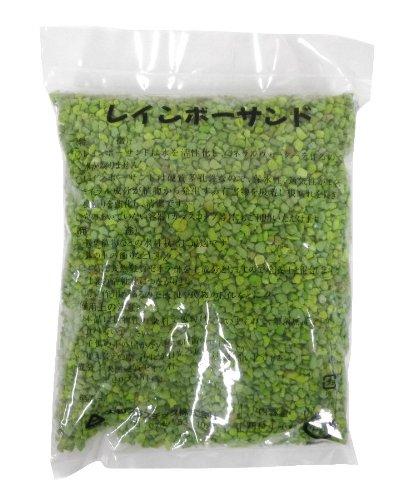 大和プラスチック レインボーサンド 1�s 中粒 エメラルドグリーン