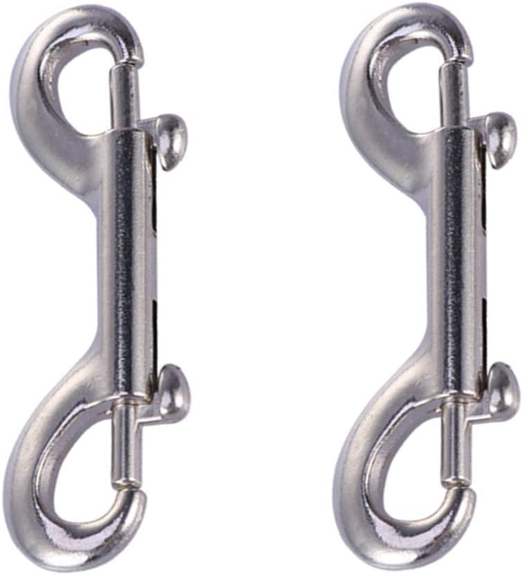 VILLCASE Double Ended Snap Sacramento Mall Clips Metal Marine Stainl Surprise price Grade