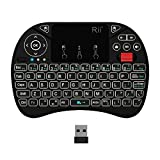 (New Backlit)Rii i8X Wireless Keyboard, Android Box Remote Keyboard, Touchpad Mini Keyboard, Scroll