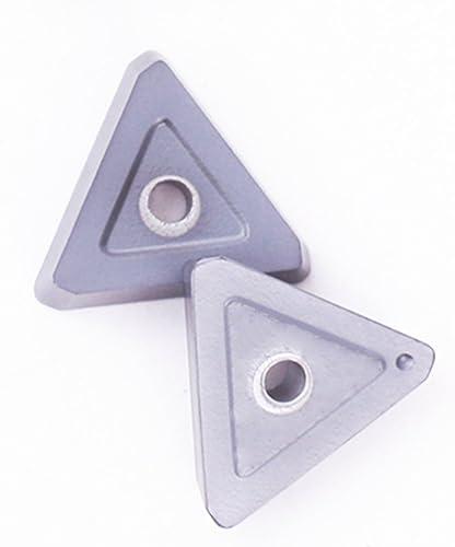 lowest ZIMING-1 10pcs TPKN 1603 PDTR traingle CNC Carbide Inserts tool,milling wholesale 2021 cutter online