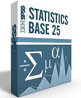 IBM SPSS Statistics Grad Pack Base V25.0 6 Month License for 2 Computers Windows or Mac