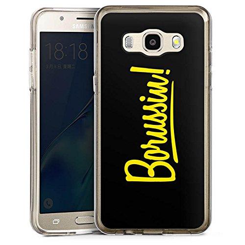 DeinDesign Cover kompatibel mit Samsung Galaxy J5 (2016) Bumper Hülle Bumper Case Schutzhülle Borussia Dortmund Borussin Fanartikel