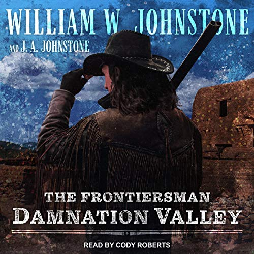 Damnation Valley audiobook cover art