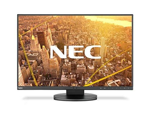 NEC MultiSync EA241F weisser 60,45cm 23,8Zoll LCD-Monitor LED IPS 3-seitige schmale Einfassung 1920x1080 FHD DP HDMI DVI D-SUB