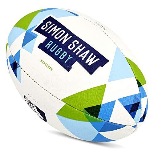 Simon Shaw - Pelotas de rugby (tamaño 5)
