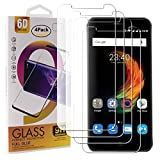 Guran 4 Paquete Cristal Templado Protector de Pantalla para ZTE Blade A610 Plus Smartphone 9H Dureza Anti-Ara?azos Alta Definicion Transparente Película