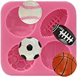 Anyana MINI Football Basketball Tennis sport boys silicone fondant...