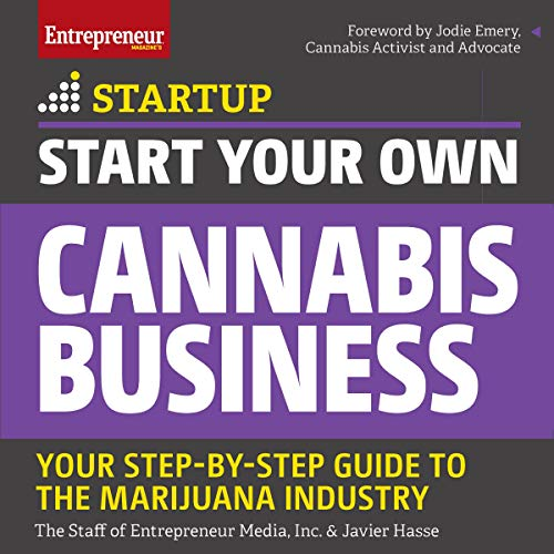 Start Your Own Cannabis Business audiobook cover art