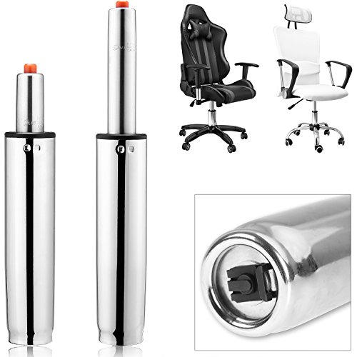 Deuba Gasdruckfeder Bürostuhl bis 355mm 400Nm 180kg Belastbar stufenlos Güteklasse III Gasdruckdämpfer Hocker
