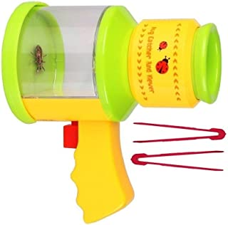 OLIVIA & AIDEN Childrens Bug Catcher and Viewer - Insect Magnifier, Catcher + 2 Bug Tweezers - Nature Exploration Microscope for Kids