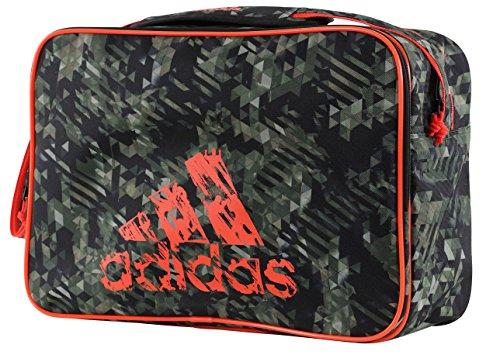 adidas Leisure Messenger, Borsa a Spalla Unisex, Camouflage/Orange, Taglia Unica