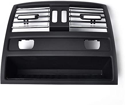 Rear Center Console Fresh Grille Grill Cover Air Outlet Vent Fit for BMW 5 F10