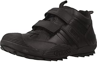 Geox Jr Savage A, School Uniform Shoe Garçon