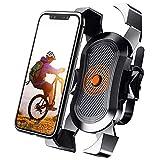Soporte Movil Bicicleta, Soporte Móvil Moto, Anti Vibración Soporte Movil Bici Montaña con 360°...