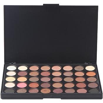 Tefamore Paleta De Sombra De Ojos 120 Colores De Polvos Cosméticos En Maquillaje Conjunto De Mate Disponible(Popfeel) (A): Amazon.es: Belleza