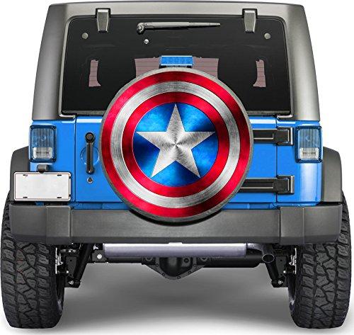 tire cover captain america - 2