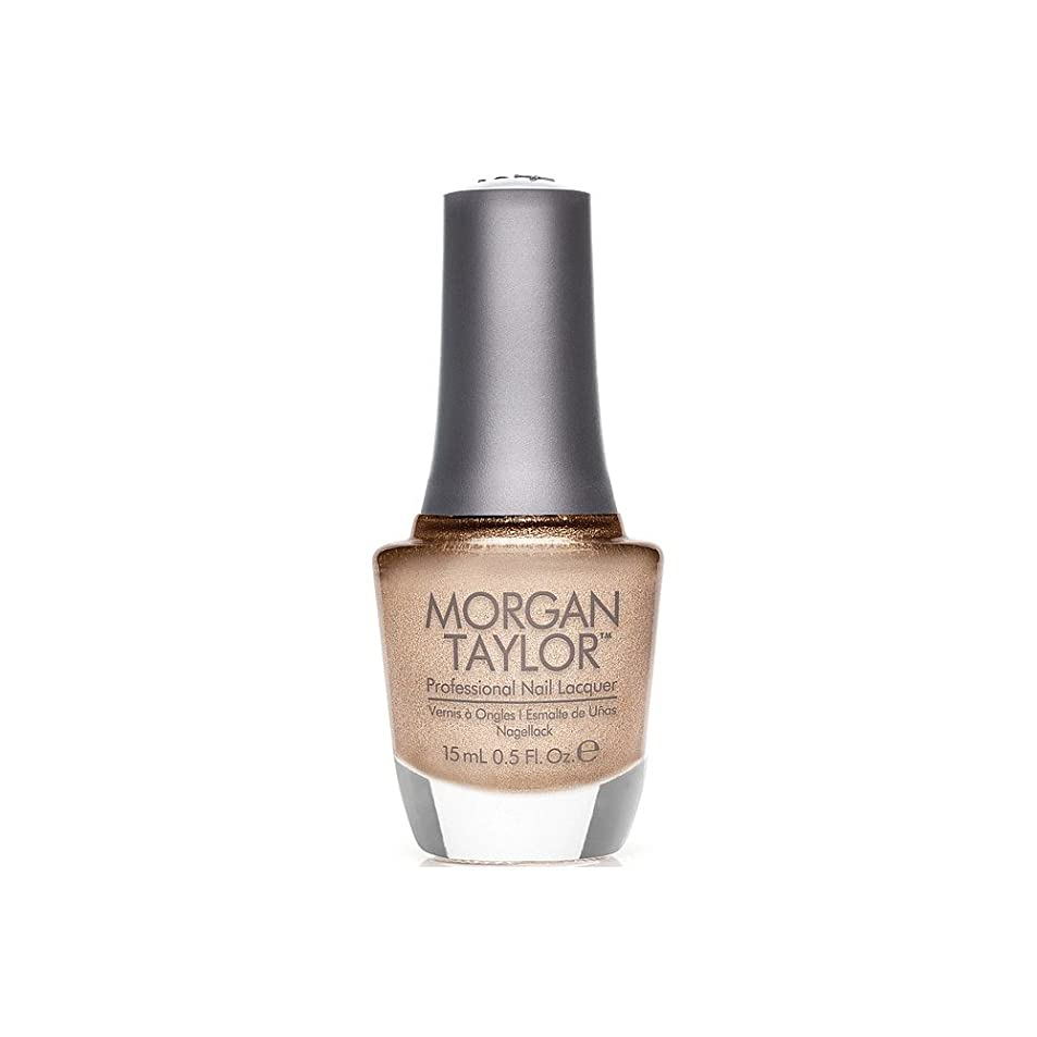 百年ファイター公Morgan Taylor - Professional Nail Lacquer - Bronzed & Beautiful - 15 mL / 0.5oz