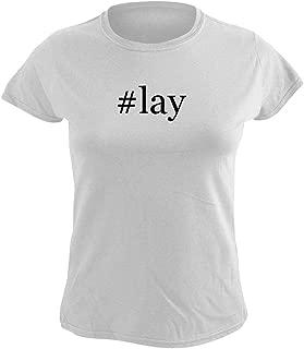 #Lay - Women's Hashtag Graphic T-Shirt