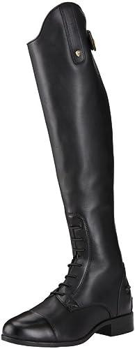 Ariat femmes Reitbottes New Heritage Contour II Field Zip noir, 4.5 (37.5), RS