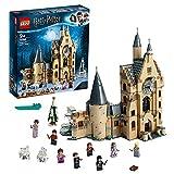 LEGO 75948 Harry Potter Torre del Reloj de Hogwarts, Juguete de Construcción con 8 Mini Figuras de Personajes Favoritos