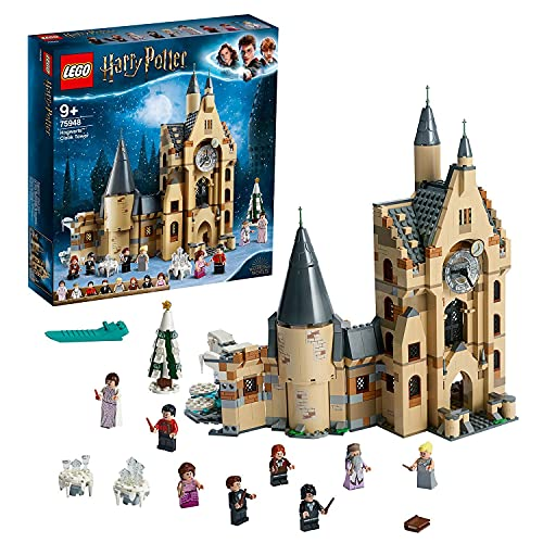 LEGO 75948 Harry Potter Torre del Reloj de Hogwarts, Juguete de Construcción...
