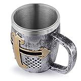 Copa de vino, taza de café, regalo personalizado de calavera de resina, decoración del hogar con cabeza de calavera, taza