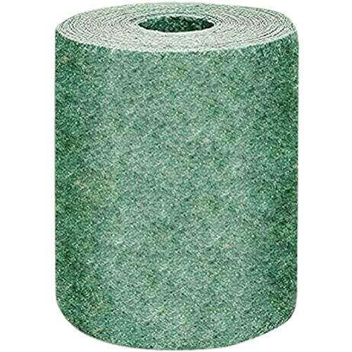 Hidyliu 1 Rollo Alfombrilla de Cultivo de Hierba Biodegradable, Jardinería Alfombra de Césped, Tapete de Germinación de Plantas, Protección de Suelo Sólido, para Patio, Jardín, Exterior(10 x 0.2 M)