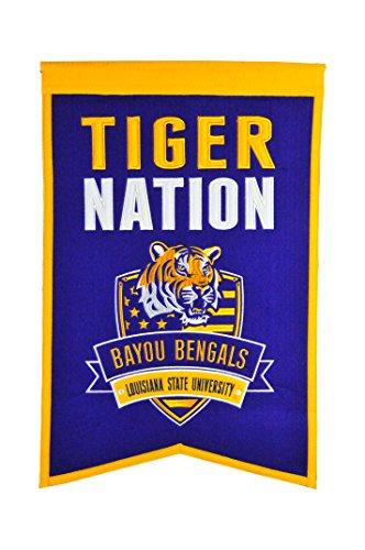 Winning Streak NCAA Unisex-Erwachsene Team Banner, Unisex-Erwachsene, LSU Tigers, 15