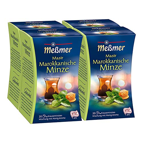 Meßmer Marokkanischer Masir Minze-Honig 4er Pack