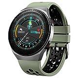 Yesman Smart Watch, display AMOLED da 1,28 pollici con schermo in vetro 3D, Bluetooth per chiamate Smartwatch, durata della batteria di 2 settimane, GPS, modalità sportive, schermo in vetro 3D